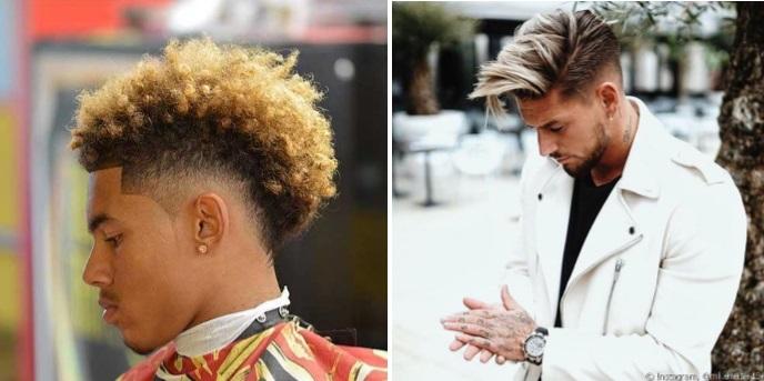 Cortes de cabelo masculino Enrolado, Ondulado e Afro