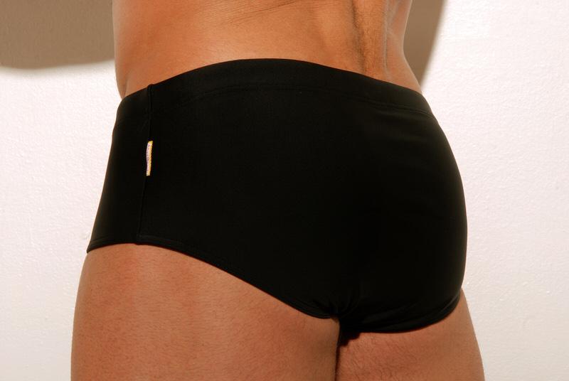 sunga de praia preta tradicional aberbeach moda praia masculina