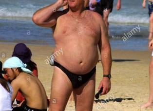 sunga de praia para homens gordos e gordinhos