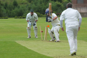FPs reached the final despite Knudson being bowled