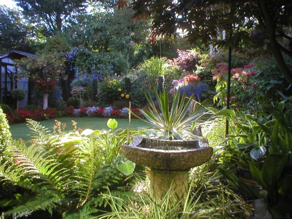 Garden in September