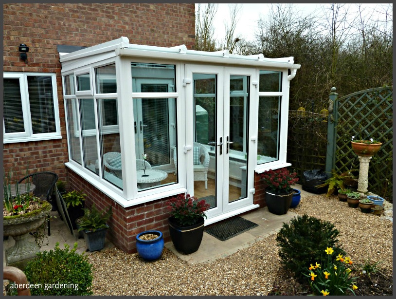 North facing conservatory