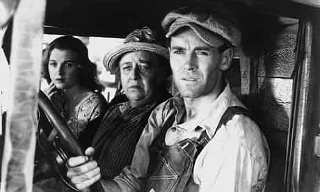 The grapes of wrath with Henry Fonda