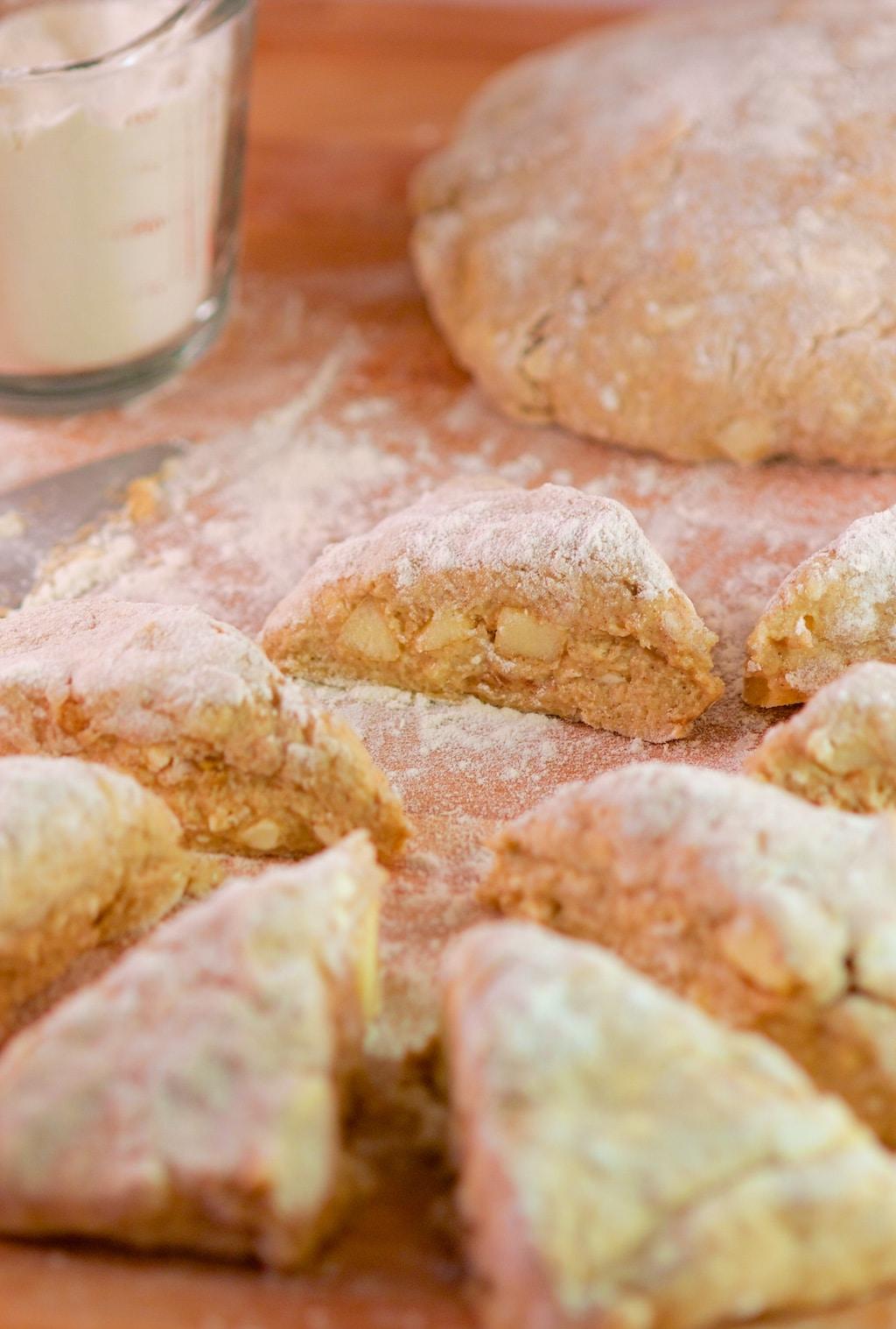 Glazed Apple Cinnamon and Buttermilk Scones - Aberdeen's ...