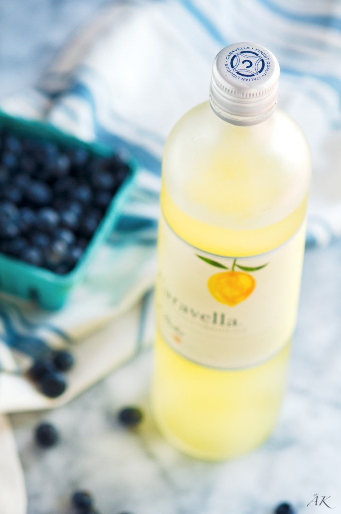 Summer Berries with Limoncello Whipped Cream