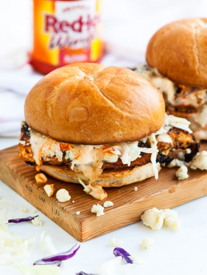 Spicy Buffalo Chicken Sandwiches