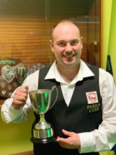 Interclubs Champion Marc Davis
