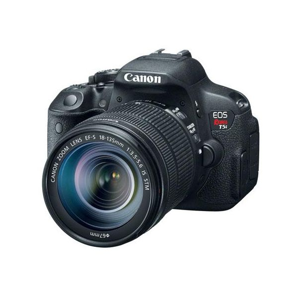 Canon EOS Rebel T5i DSLR Camera with 18 135mm Lens