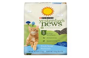 Yesterday's-News-Cat-Litter