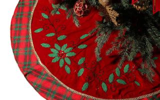 Top 10 Best Christmas Tree Skirts In 2018 Review