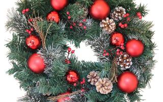 Top 10 Best Christmas wreaths in 2018 Review