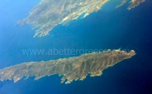 Makronissos and Giaros islands, Greece
