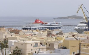 Syros ferries Cyclades Greece