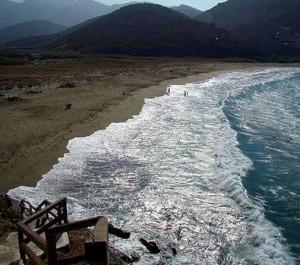 Tinos beaches Greece