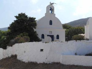 Serifos monastery, Cyclades, Greece