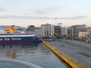 Piraeus port, Greece