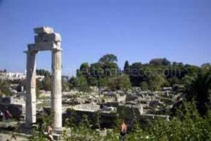 ancient agora of Athens, Greece