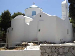 Prodromos on Paros island in Greece