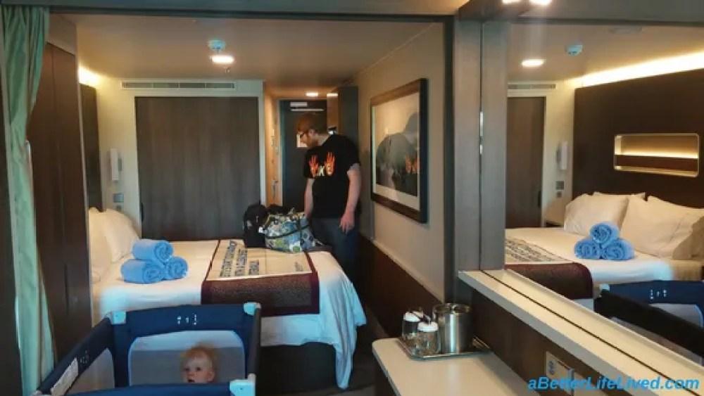 Family Cruise-Norwegian Escape Family Oceanview Room