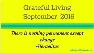 Grateful Living September 2016