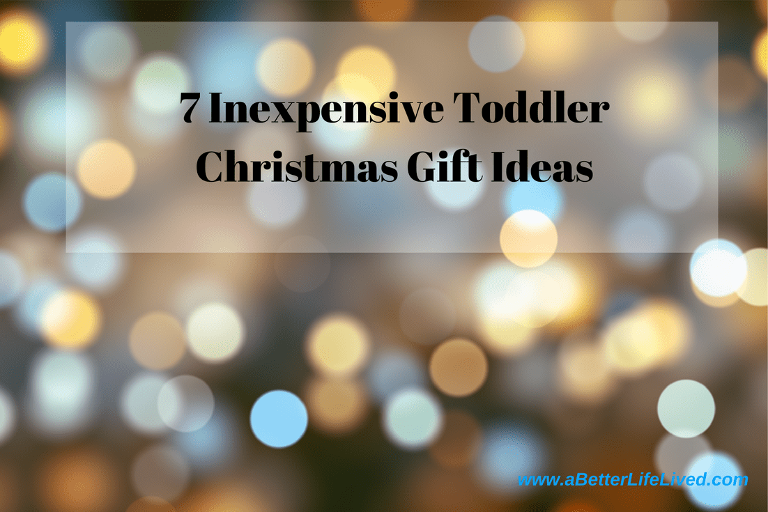 Here are some inexpensive toddler Christmas gift ideas that will allow them to use their imaginations, teach them valuable life skills while they play, and keep them entertained. All while keeping you from breaking the bank.