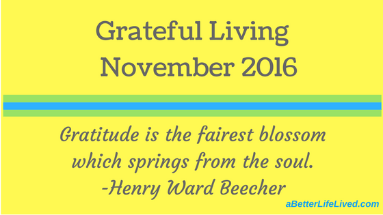 Grateful Living November 2016