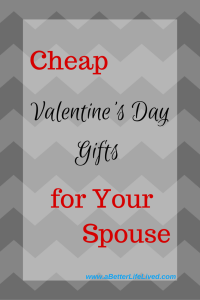 Looking for inexpensive or cheap Valentine's Day gift ideas for your husband? Here are 10 awesome gift ideas under $40 (some well under) that are sure to be a hit.
