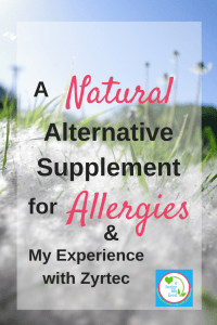 D-HIST A Natural Alternative Supplement for Allergies that works so well! Great for natural allergy relief!