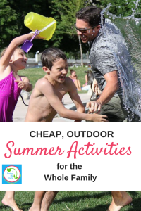 Looking for fun things to do this summer as a family, without spending a ton of money? Check out this list of cheap outdoor Summer activities for the whole family!