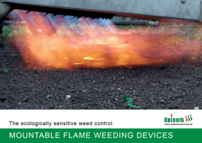 BROCHURE MOUNTABLE FLAME WEEDING - DEVICES