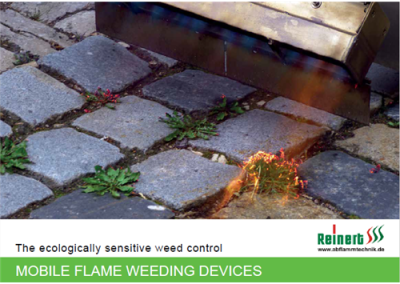 BROCHURE MOBILE FLAME WEEDING - DEVICES
