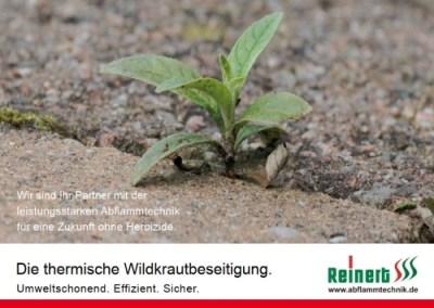 Prospekt REINERT ABFLAMMTECHNIK DEUTSCH