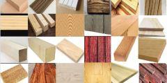 الأخشاب الطبيعية والصناعية وأهم ما يميزها