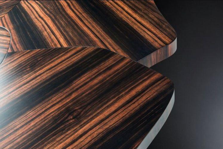 صورة لخشب الأبنوس