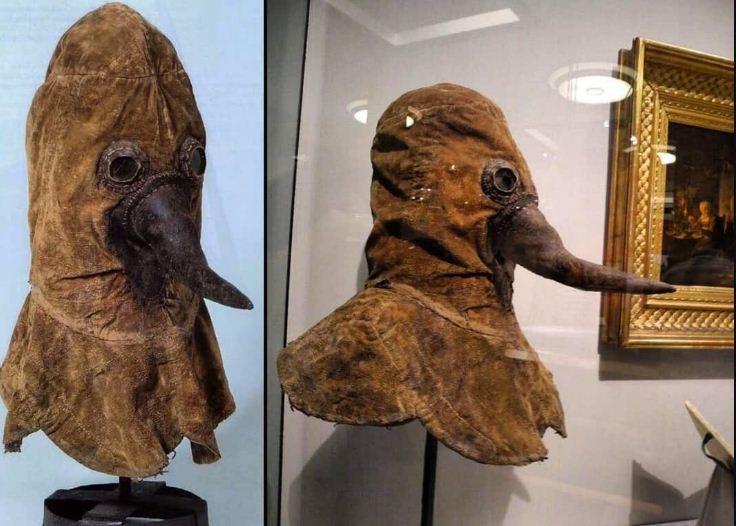 قناع الوجه المنقار في العصور الحديثة