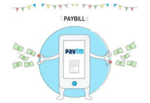 paytm pay bills  off