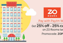 ZoRooms  percent off on hotels