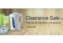 Amazon Home and Kitchen Clearance Sale