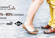 paytm fab sashion sale on footwear