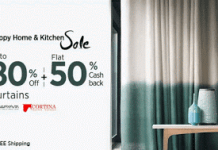 paytm hhks get flat  cb on curtains
