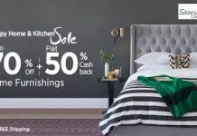 paytm hhks get flat  cb on home furnishings