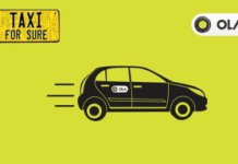 Ola taxiforsure  off offer