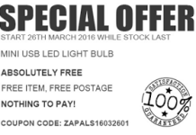 Special offer zapals