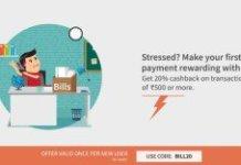 freecharge BILL promo code loot offer  cashback