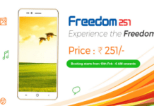 freedom  book smartphone for Rs  only