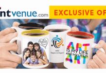 printVenue rs off on mugs no minimum order