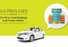 treebo offer ola per off on hotels loot
