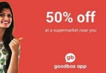 Goodbox buy groceries at  off