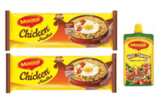 maggi chicken noodles hot sweet pichku