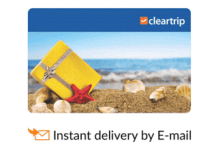 snapdeal cleartrip gift card offer
